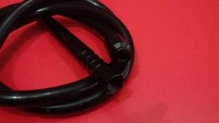Силиконовый шланг с охладителем, чёрный 175 см, 51976