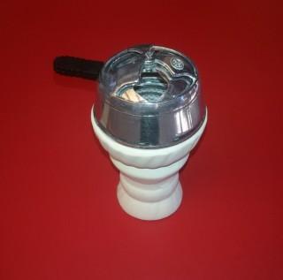 Чаша для кальяна глиняная, толстостенная, 3792