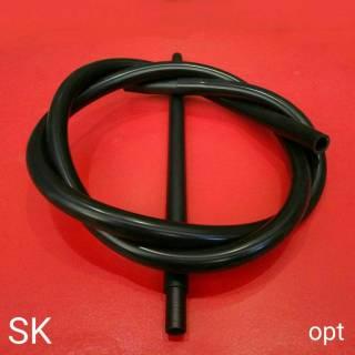 Шланг для кальяна MYA силиконовый чёрный 6421