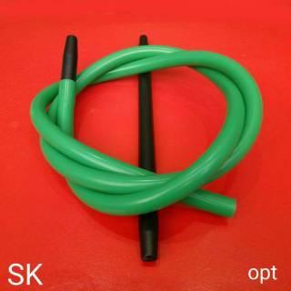 Шланг для кальяна MYA силиконовый зелёный 185 см 6422