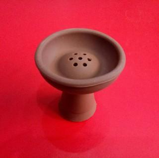 Силиконовая чаша для кальяна Вулкан, коричневая 2959 купить оптом недорого