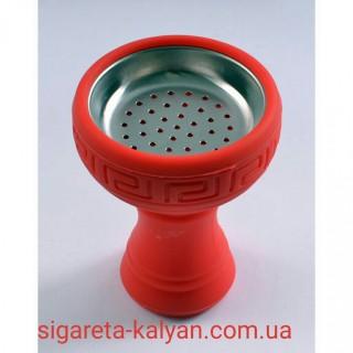 Силиконовая чаша для кальяна с сеткой красная  в Харькове Amy