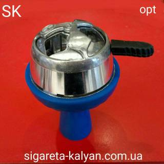 Силиконовая чаша для кальяна SAMSARIS Redly синяя 9990 все для кальяна