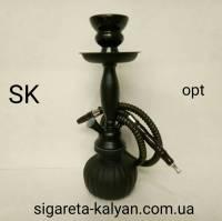 Чёрный матовый кальян Stalex Hookah Black 0100