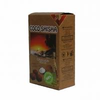 Кокосовый уголь для кальяна COCO SHISHA 10шт