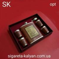 Набор подарочный Украина Savana Фляга рюмки лейка 3718