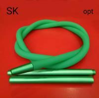 Силиконовая трубка шланг для кальяна Garden Soft Tuch Green  TDK  3788