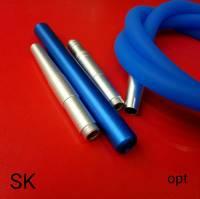 Силиконовая трубка шланг для кальяна Garden Soft Tuch TDK Blue 3786 купить недорого в Украине шланги для кальяна
