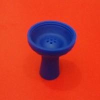 Силиконовая чаша для кальяна, синяя