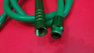 Силиконовый шланг с охладителем, зелёный 175 см, 23510
