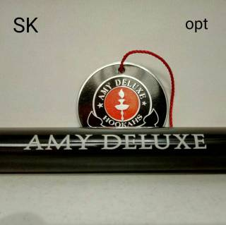 Кальян Amy Deluxe Black  027 Click 0209 официальный представитель Amy Deluxe