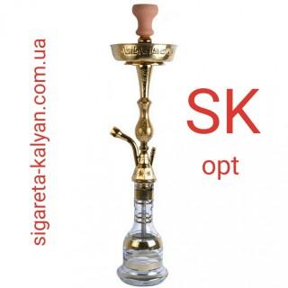 Кальян Khalil Mamoon (Халил Мамун) Pharaoh золото 75 см 3940