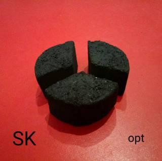Кокосовый уголь для кальяна Shisha Damask 9100 идеально выбор для кальянных заведений