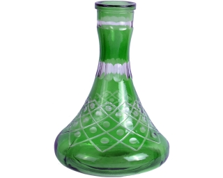 Колба для кальяна, зеленая большая, 3427