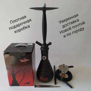 Кальян Amy Deluxe FOUR stars 610 Black 6734