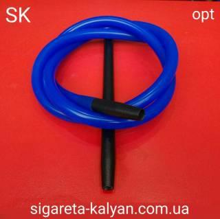 Шланг для кальяна MYA силиконовый синий 185 см 6423
