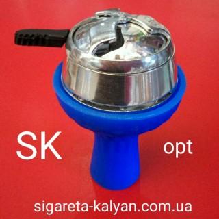 Силиконовая чаша для кальяна Торнадо синяя 4320 для изысканных любителей кальяна