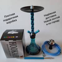Кальян Amy Deluxe 3D Blue  8159