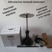 Кальян Amy Deluxe UNIO 007 Black  8701