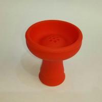 Силиконовая чаша для кальяна Вулкан красная 1015