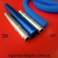 Силиконовая трубка шланг для кальяна Garden Soft Tuch TDK Blue 3786 доставка по всей Украине